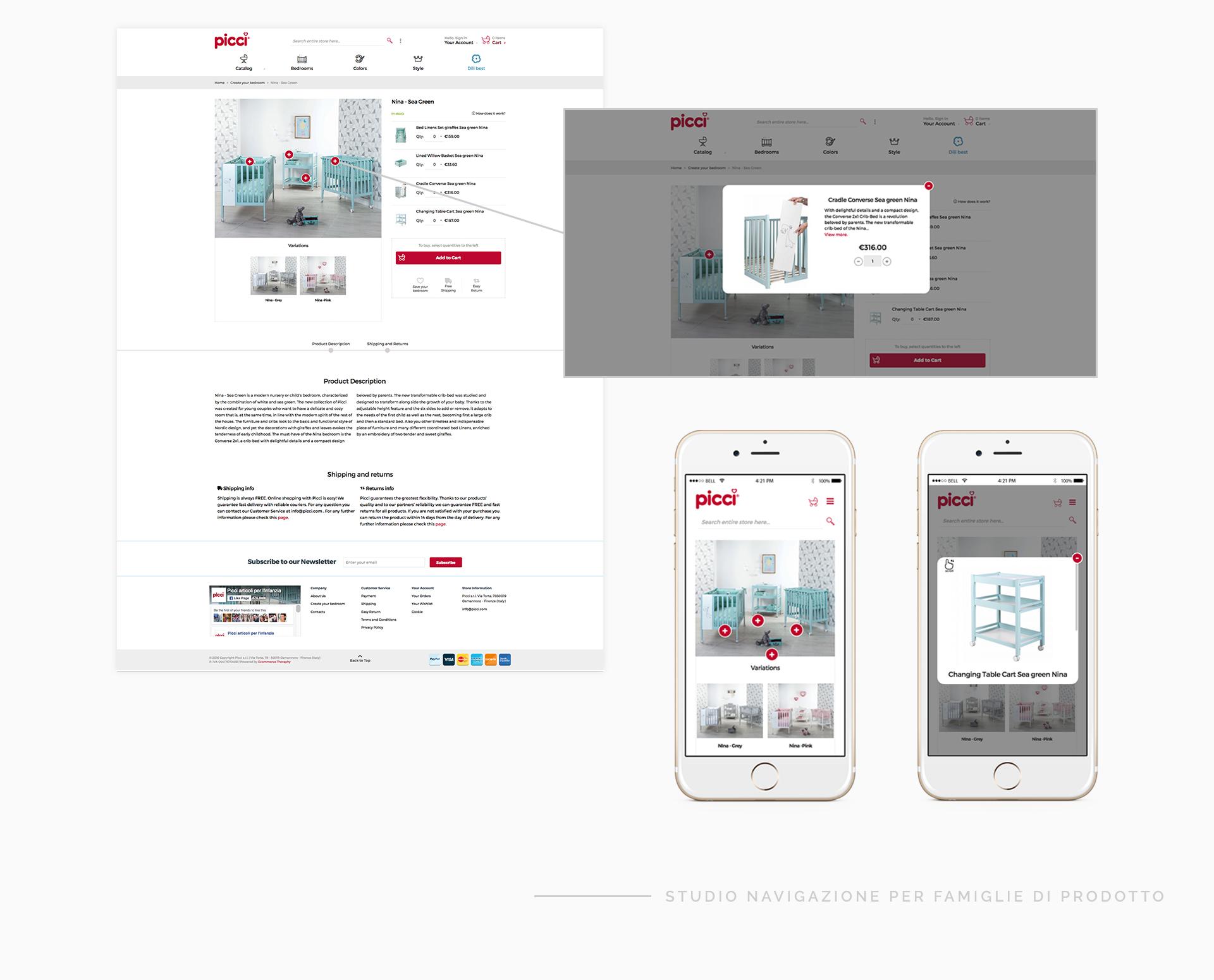 ux design picci by e-commerce therapy