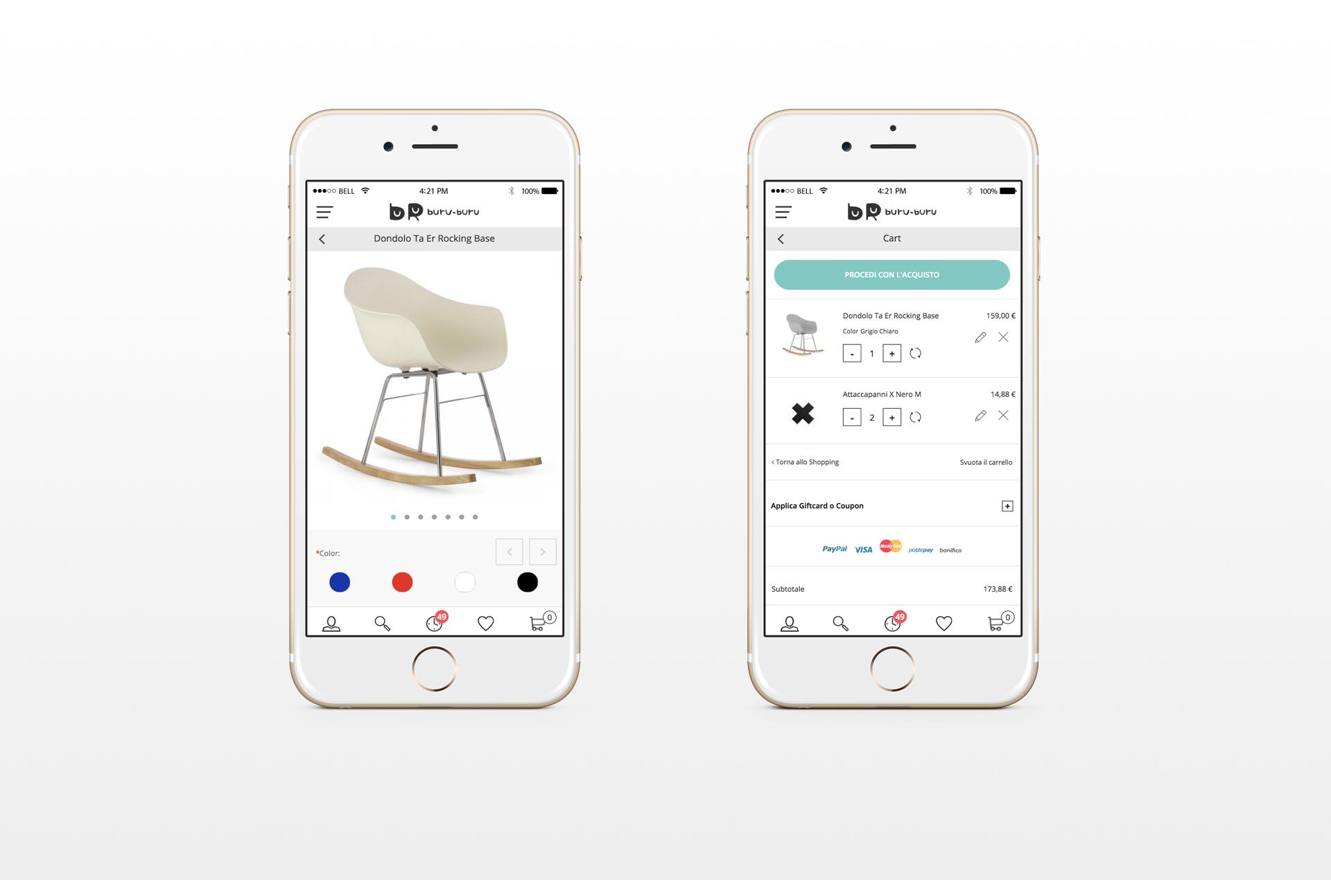 buru buru e-commerce mobile version
